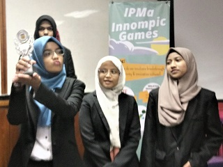 IPMA 2018 innovation success story trophy Malaysia